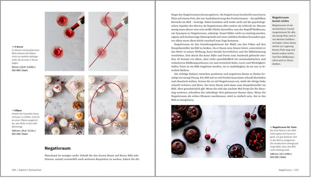 Foodfotografie Buch Komposition