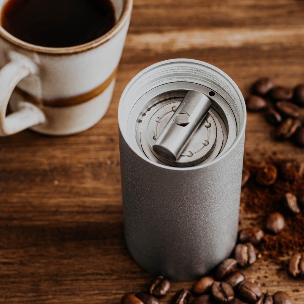 Produktfotos Kaffeemuehle Edelstahl