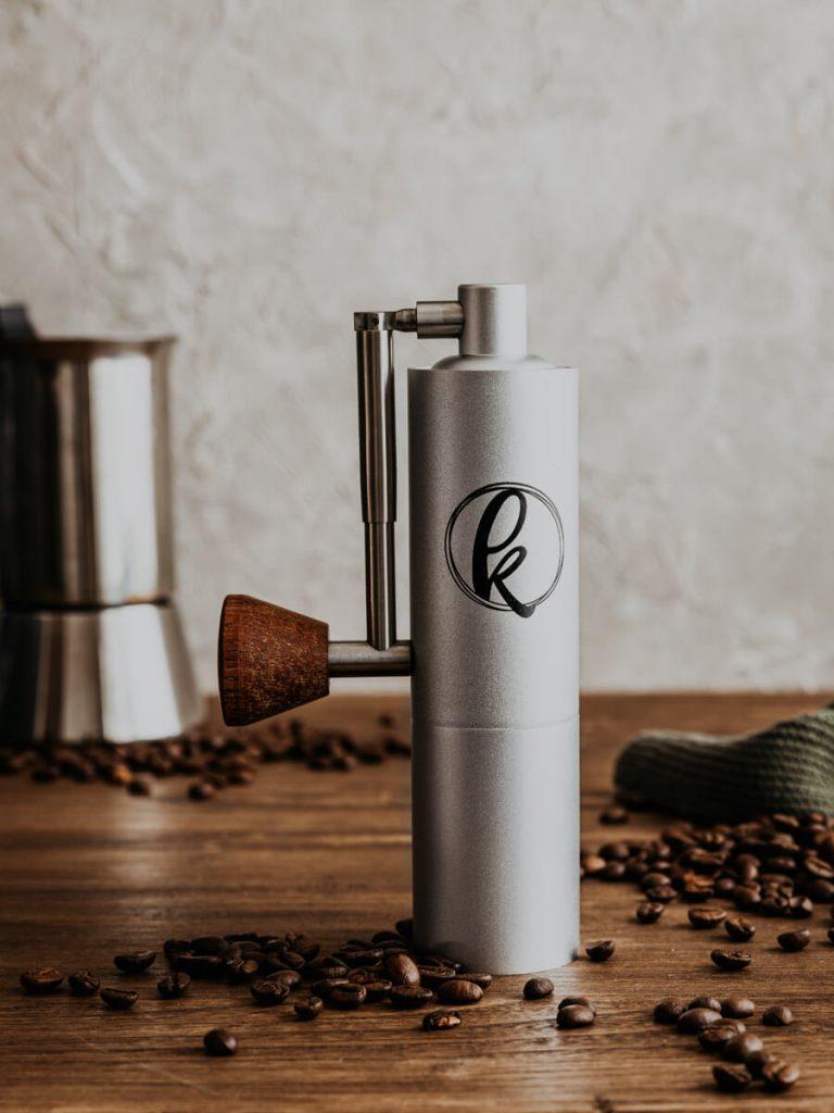 Produktfotos kleine Foodlabels Kaffee